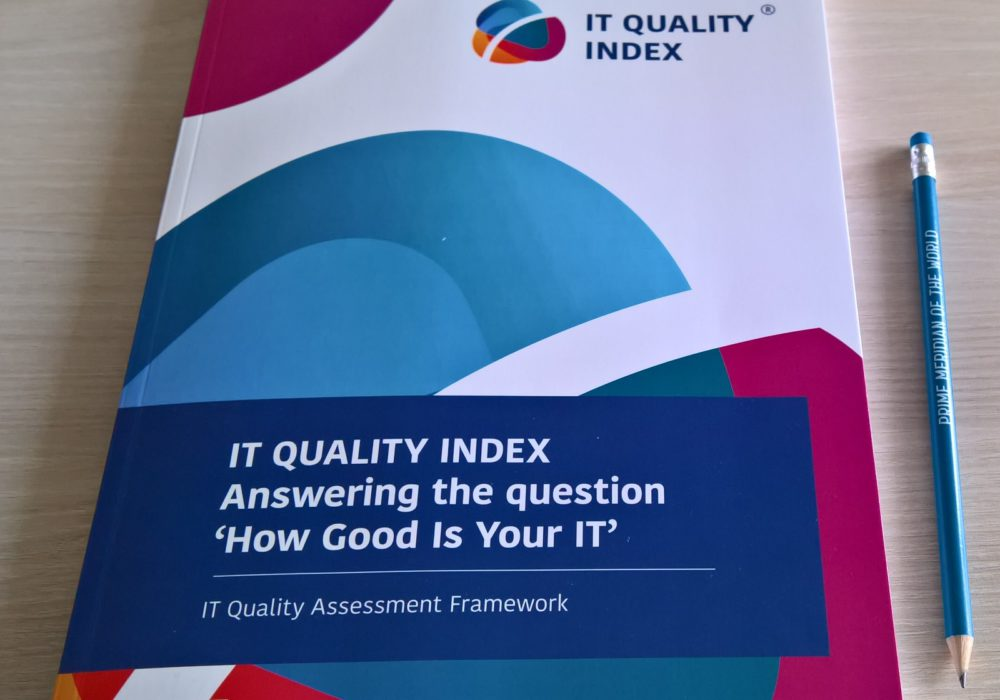 IT QUALITY INDEX book published and available